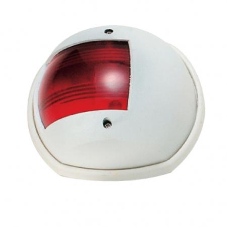 אור ניווט צד שמאל אדום – גוף לבן