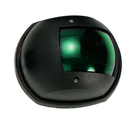 אור ניווט צד ימין ירוק – גוף שחור